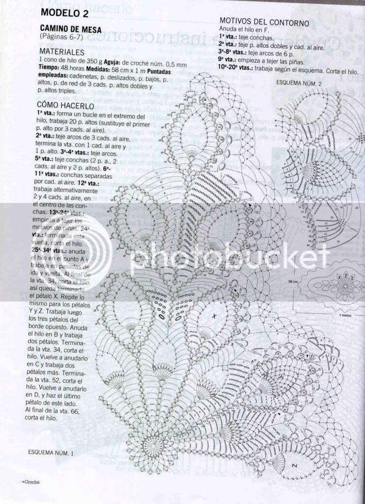 Lujoso Patrón Tapetes De Ganchillo Cresta - Manta de Tejer Patrón de ...