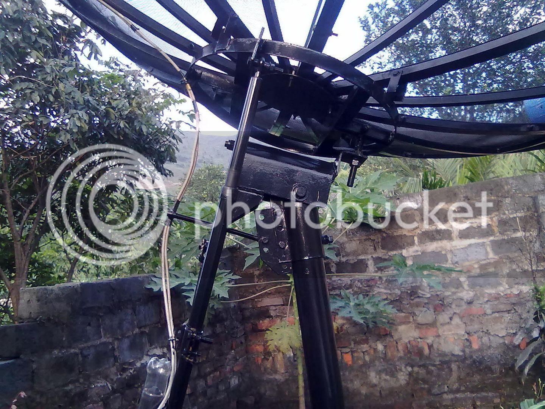 Chảo C Band và mô tơ tự chế 16052011061