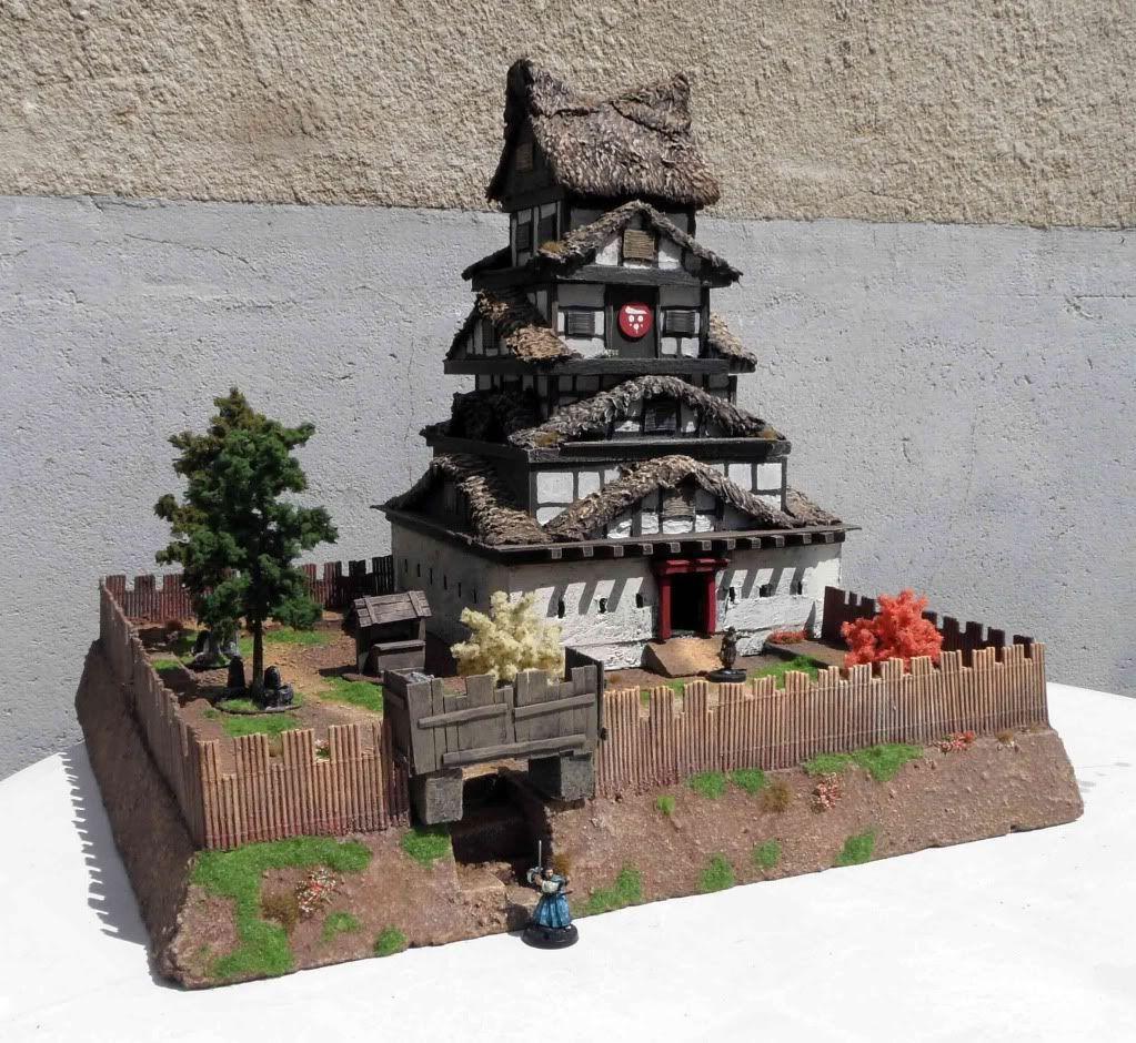 Tutorial château japonais Castle1