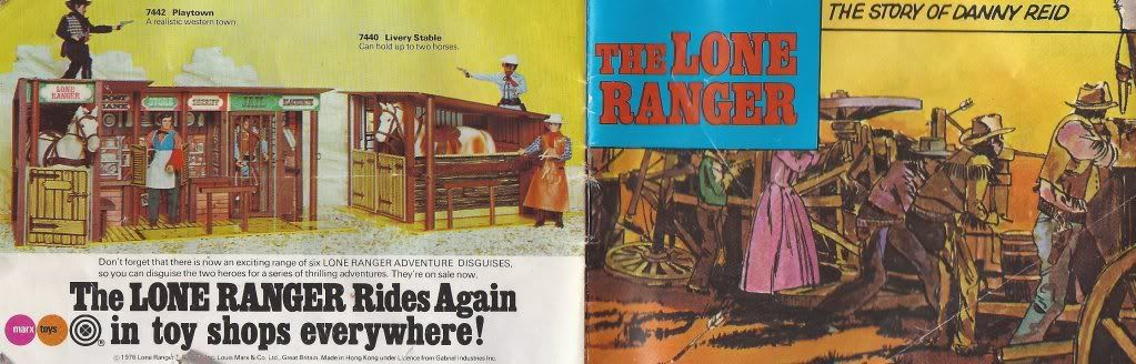 Lone Ranger Comic - The Story of Danny Reid SCAN0021