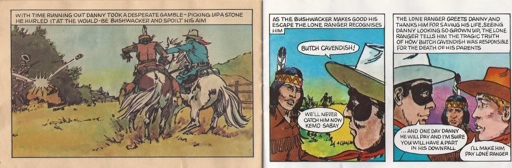 Lone Ranger Comic - The Story of Danny Reid SCAN0029