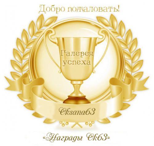 Награды Ok63 B0fd3ad4327f5cbbb55e73d3351e2b59