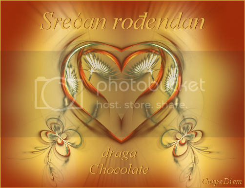 Chocolate , srecan rodjendan ! ChocolateRodj