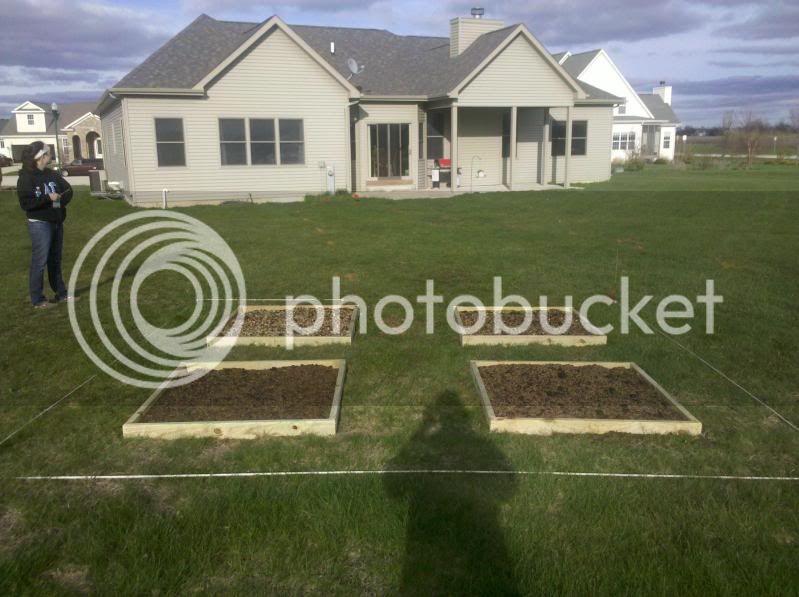 My garden layout Garden2011