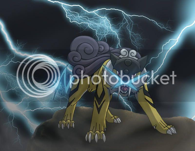 [XY UU] Raikou, electrik power Raikou_by_Rukiawolf