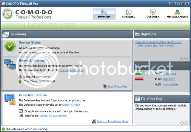 Comodo Firewall Pro Comodo1