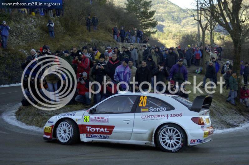 Citroen Xsara WRC #26 Daniel Sordo- Monte-Carlo 2006 Citroen-xsara-wrc-rally-montecarlo-2006-3
