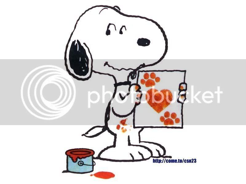Najljubši lik iz risanke/filma Snoopy12