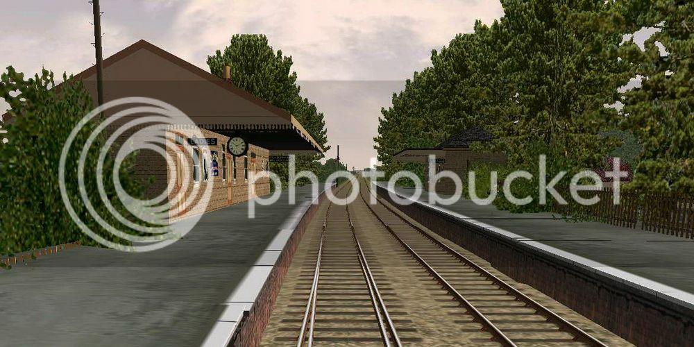 Honeybourne Line, Steam Era BishopsCleeveStation