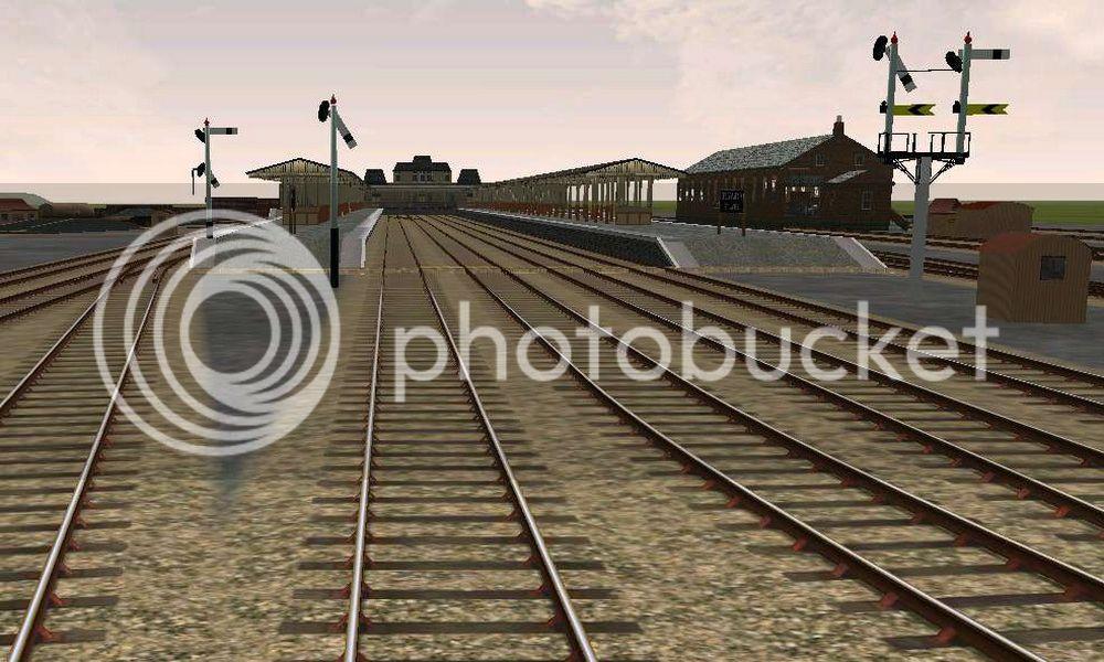 Honeybourne Line, Steam Era CheltStJamesenter