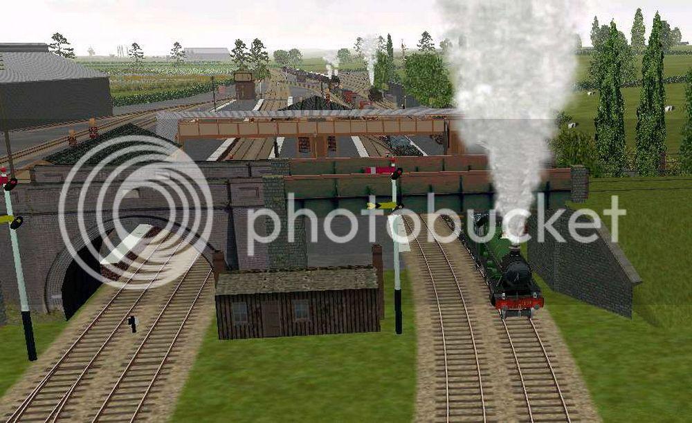 Honeybourne Line, Steam Era Honeybourne01