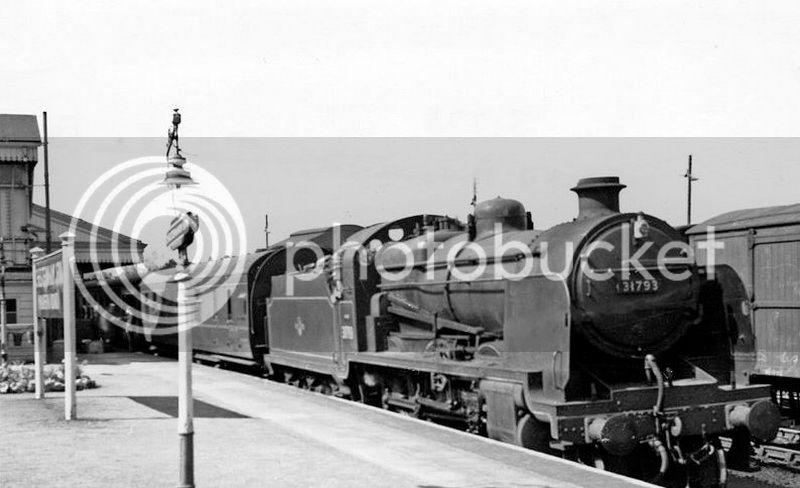 Honeybourne Line, Steam Era SRinChelt