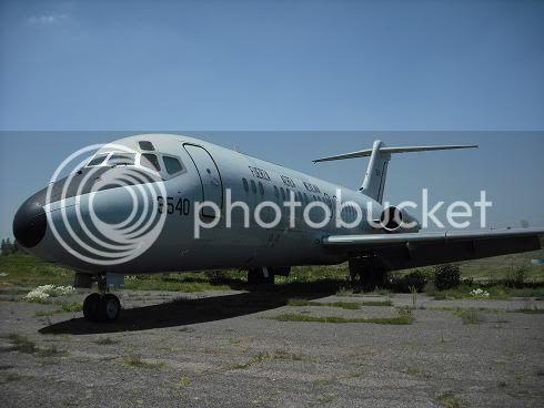 Inventario  de  aeronaves de  la  FAM  ( actualizado 23 Febrero 2016 ) DC-9-15FFAM