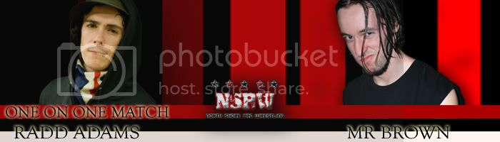 NSPW Undead 18 Septembre 2010 20h RaddvsBrown