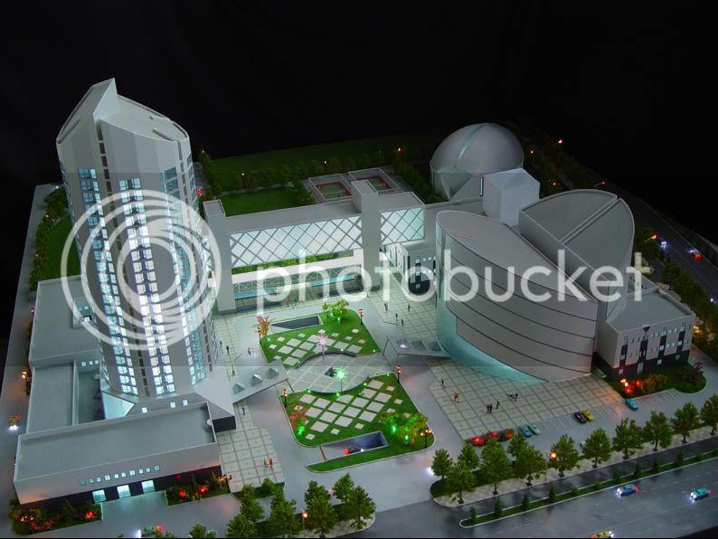 thiết kế, chế tạo mô hình kiến trúc giá tốt nhất Architectural-Model-21CenturyPlaza