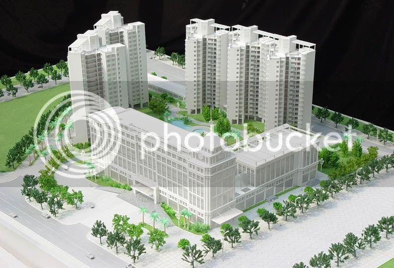 thiết kế, chế tạo mô hình kiến trúc giá tốt nhất Architectural-Model_ChongqingCustomBuilding