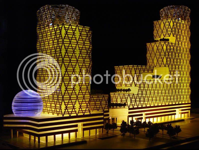 thiết kế, chế tạo mô hình kiến trúc giá tốt nhất Architectural-Model_InternationalWealthCentre