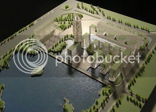 thiết kế, chế tạo mô hình kiến trúc giá tốt nhất Arep-Ville