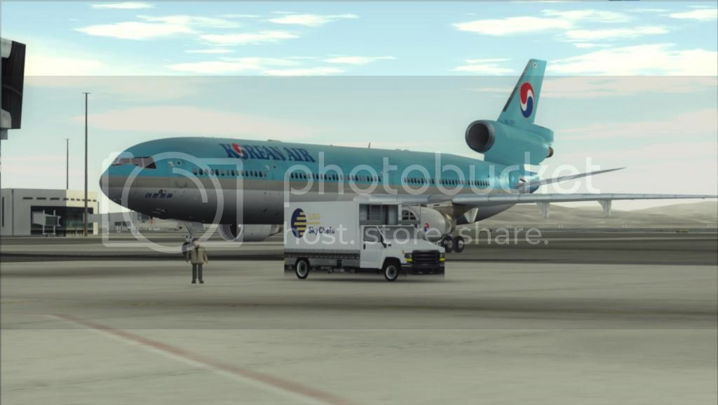 SFO - ICN com o MD-11 Korean Air Fs92012-11-0313-24-58-04