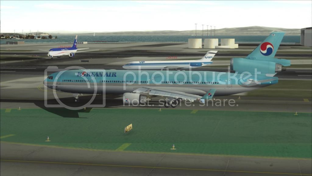SFO - ICN com o MD-11 Korean Air Fs92012-11-0313-32-38-71