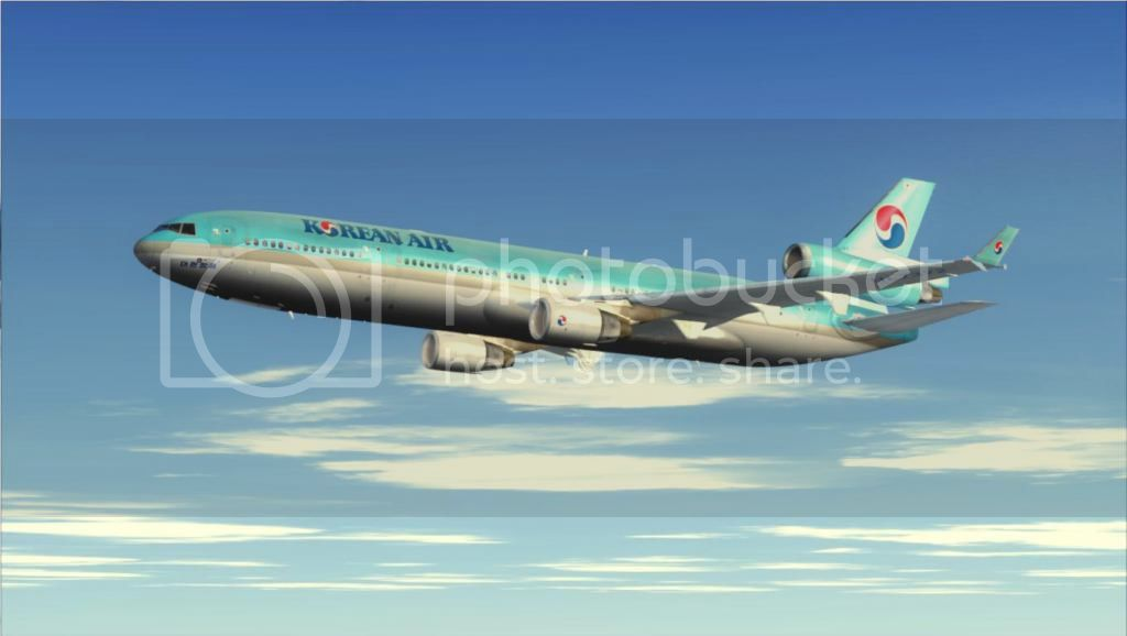 SFO - ICN com o MD-11 Korean Air Fs92012-11-0316-53-13-63