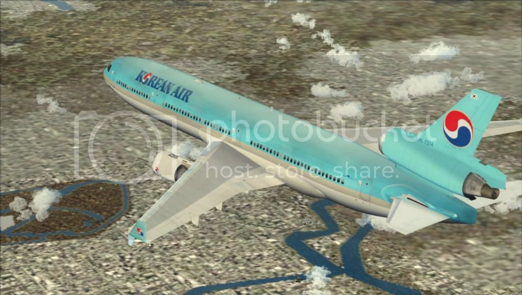 SFO - ICN com o MD-11 Korean Air Fs92012-11-0322-46-25-52