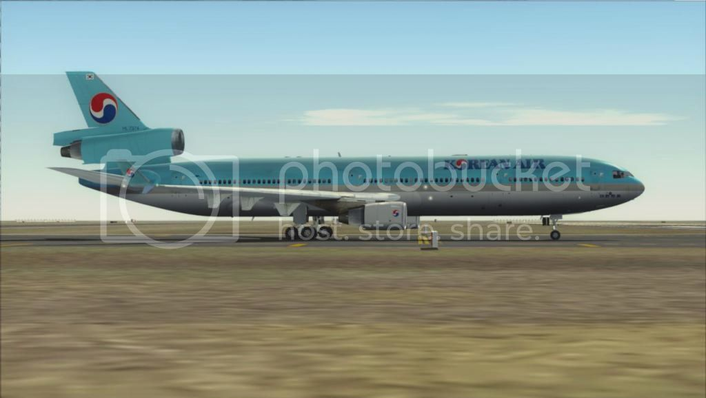 SFO - ICN com o MD-11 Korean Air Fs92012-11-0400-58-59-93