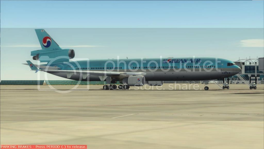 SFO - ICN com o MD-11 Korean Air Fs92012-11-0401-02-51-73
