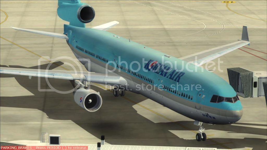 SFO - ICN com o MD-11 Korean Air Fs92012-11-0401-03-49-53
