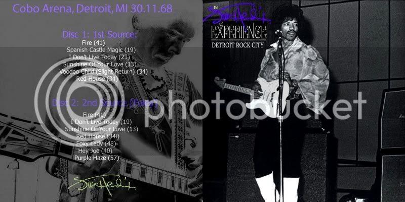 Detroit (Cobo Hall Arena) : 30 novembre 1968  ATM-231-232-Front-EDITED-1