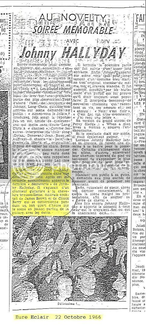 Evreux (Cinéma Novelty) : 13 octobre 1966 EureEclair-1966