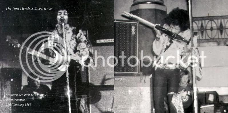 Vienne (Konzerthaus) : 22 janvier 1969 [Premier concert] HendrixMusicofSpheresFront