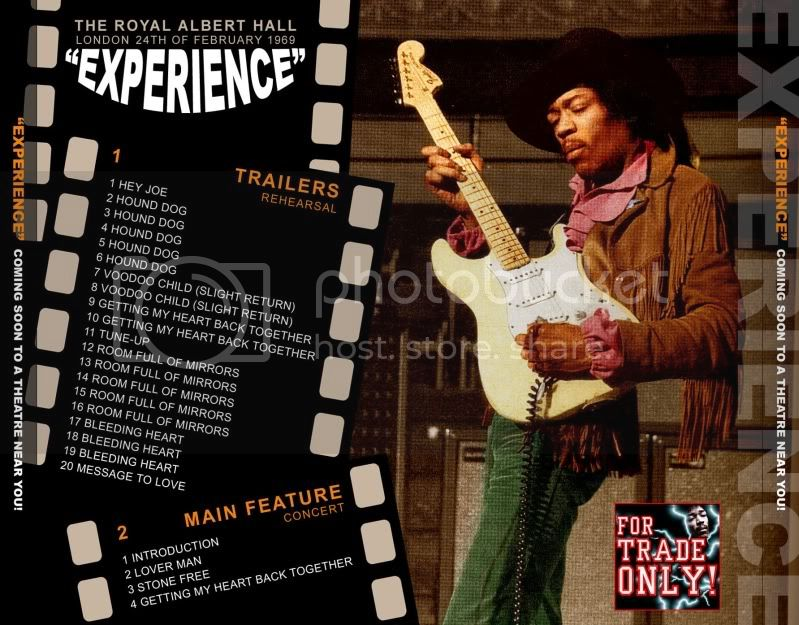 Londres (Royal Albert Hall) : 24 février 1969 [Soundcheck]  HendrixRAHBack