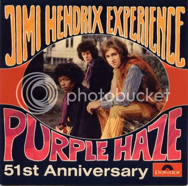 Purple Haze / 51st Anniversary (1967) [Single] JimiHendrixPurpleHazeFront
