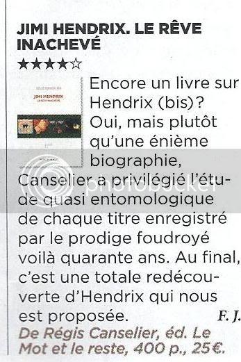 Jimi Hendrix - Le rêve inachevé (Régis Canselier) [2010] VSD