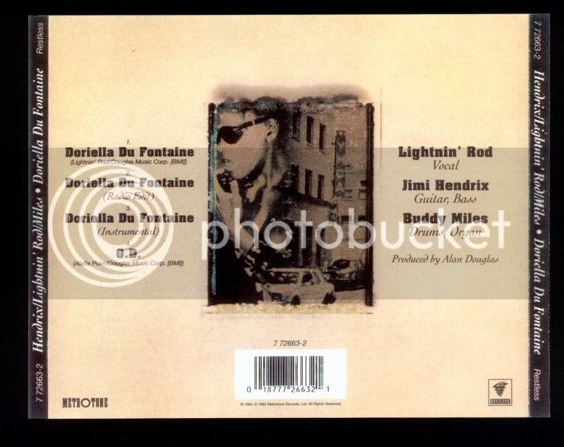Lightnin' Rod : Doriella Du Fontaine [Participation] Back-2