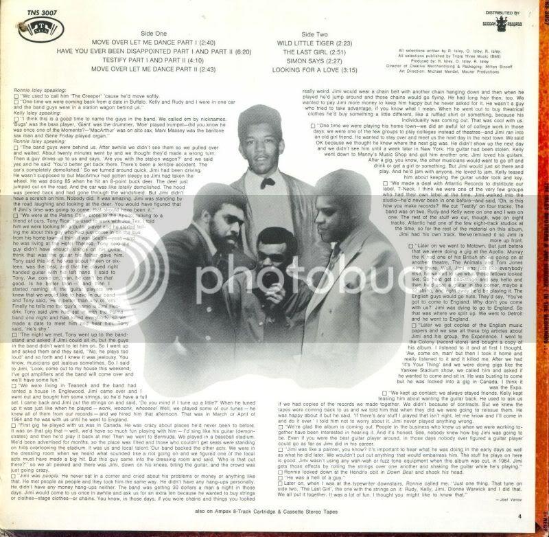 Jimi Hendrix & The Isley Brothers : In The Beginning (ATM 172) Isley_ba