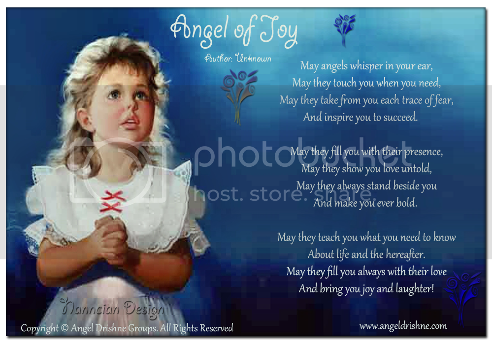 ~ Inspirational Designed Poems ~ --Angel-of-Joy-