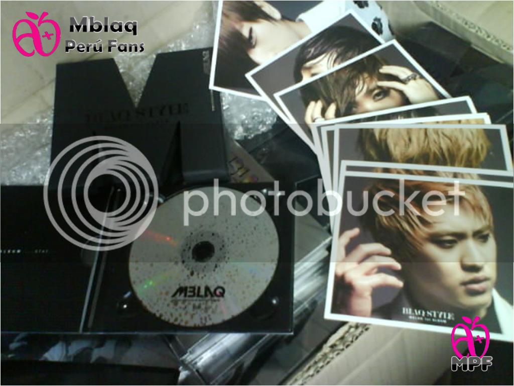 """[FOTOS MPF] Fotos de la llegada del primer album de MBLAQ """"Blaqstyle"""" y del segundo minialbum """"Y"""" Blaqstyleopenmpf"""