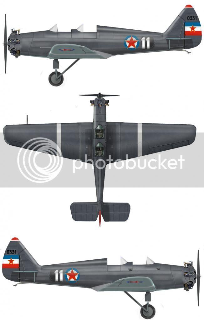 JAKOVLJEV UT-2 Yugoslavian11_zps1c8808d8