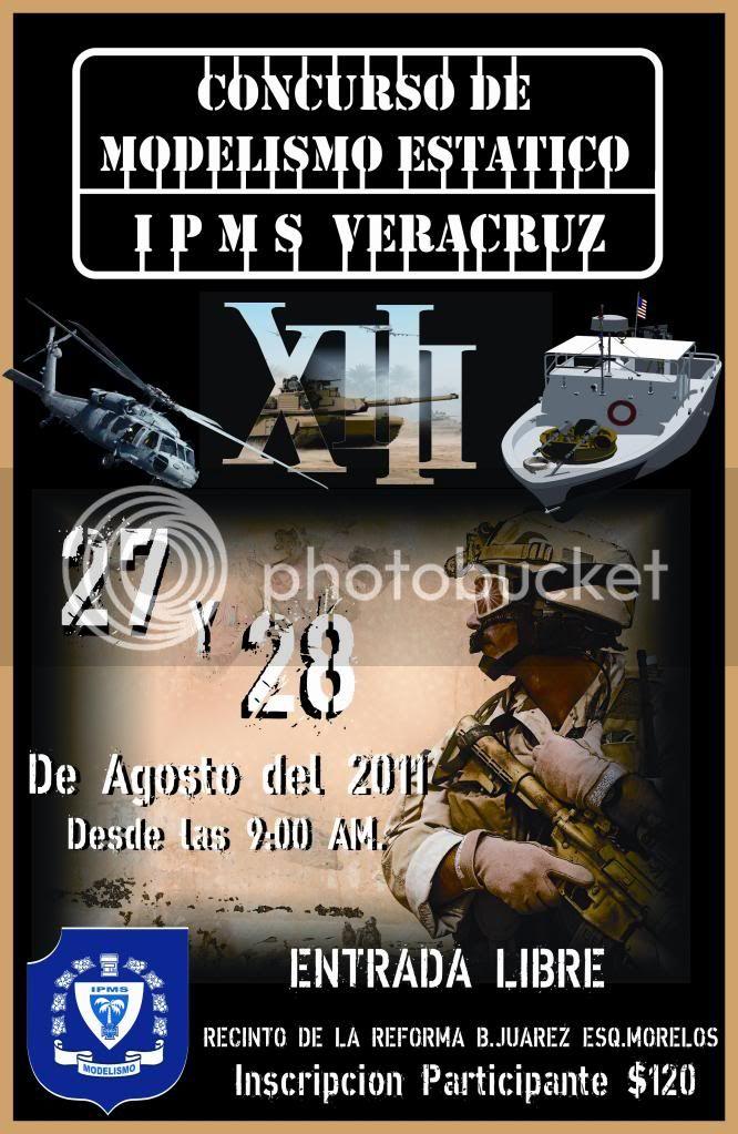 """XIII Edición del Concurso """" IPMS VERACRUZ"""" 2011, 27 y 28 Agosto ¡¡ POSTER2XIIIEDICION"""