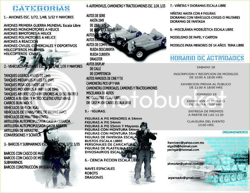 XIV EDICION IPMS VERACRUZ /  AGOSTO 18 y 19 (TITANIC/AMM) TRIPTICO_XIV-1