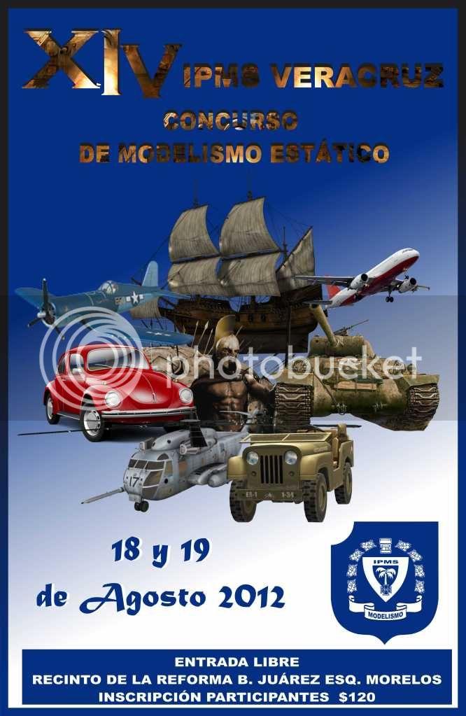 XIV EDICION IPMS VERACRUZ /  AGOSTO 18 y 19 (TITANIC/AMM) Poster2IPMSXIV