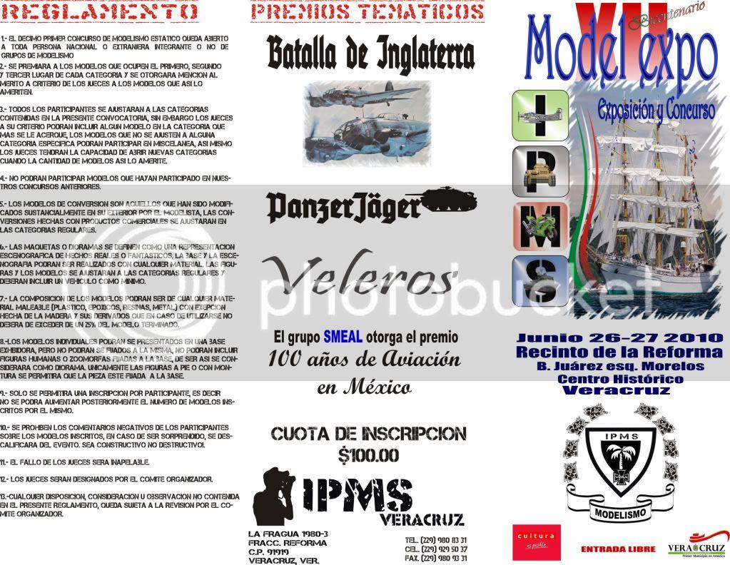 XII Expo y Concurso IPMS Veracruz en Junio Triptico12-1