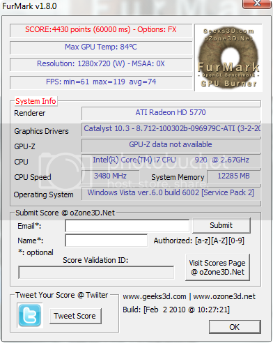 FurMark OpenGL Benchmark and Graphics Card Stability Test 2010-04-08_173455