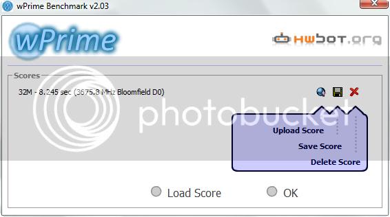 WPrime multithreaded benchmark for x86 processors Wprimetest37ghz