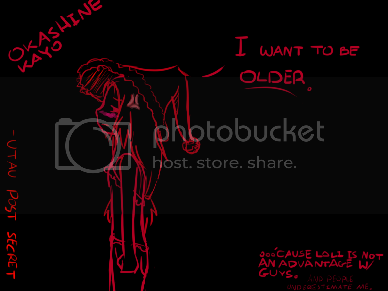 New Art Project!: UTAU Post Secret Kayopostsecret