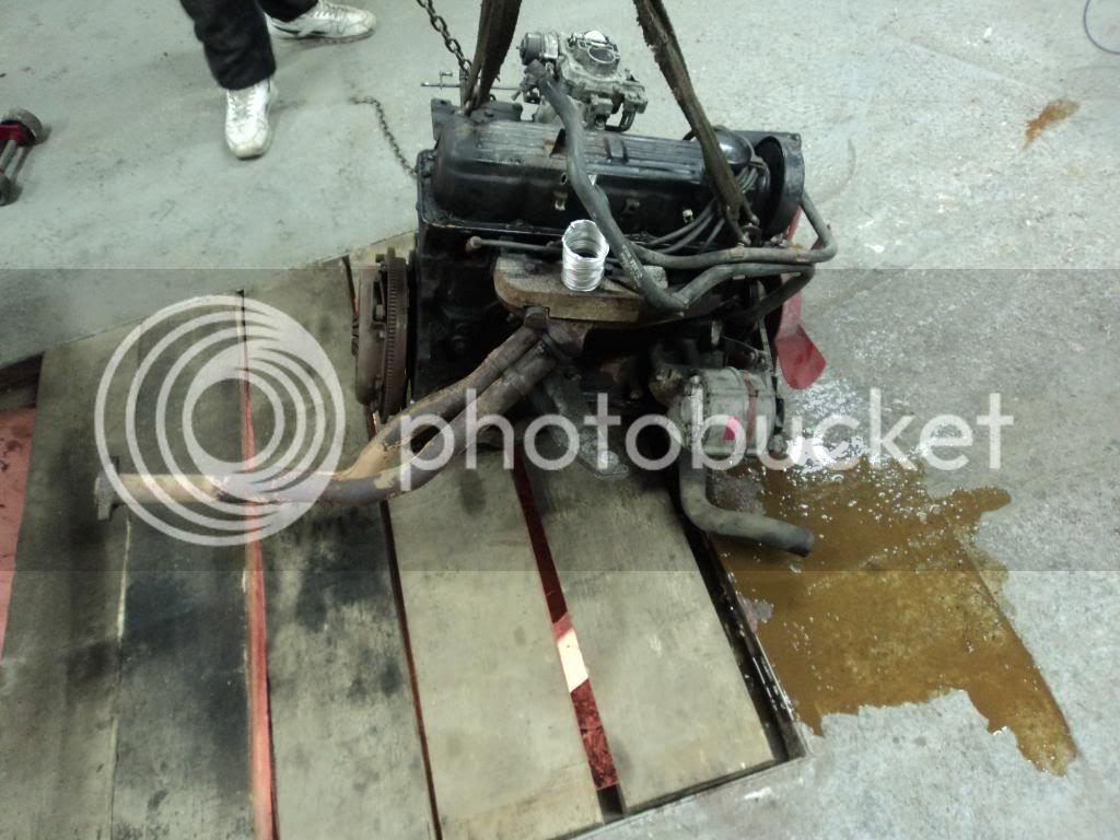1990 SIERRA ENGINE SWAP ........ Gusssierra004