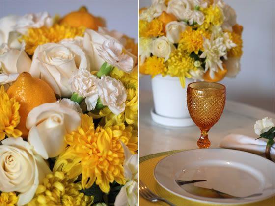 Arreglo Floral blanco y amarillo Arranjobrancoeamarelo3_zpsb2726602