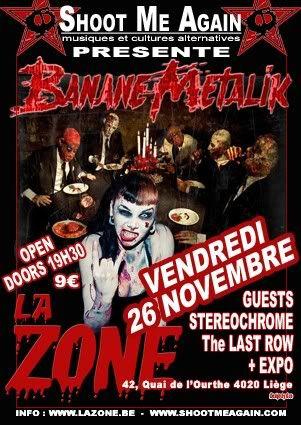 Les Bananes Metalik zoneront à Liège le 26 novembre... FLYERS-BANANE-WEB1